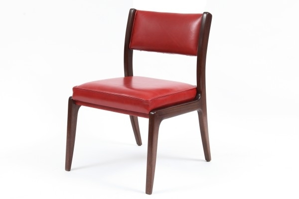 Modern Red Leather Dining Chairs (View 13 of 20)
