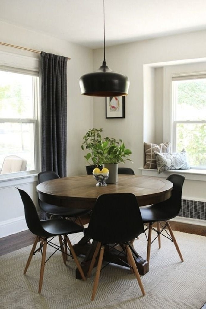 Modern Round Dining Table Extendable (View 5 of 20)