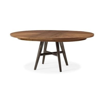 Modern Throughout Famous Craftsman Round Dining Tables (View 14 of 20)