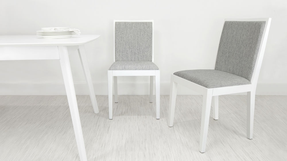 Modern White Oak Wooden Dining Chair (View 9 of 20)