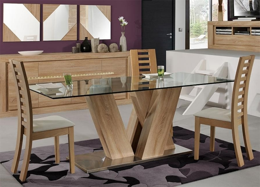 Modern Wooden Dining Table Designs Best Of Wood And Glass Dining For Most Recently Released Wood Glass Dining Tables (View 10 of 20)