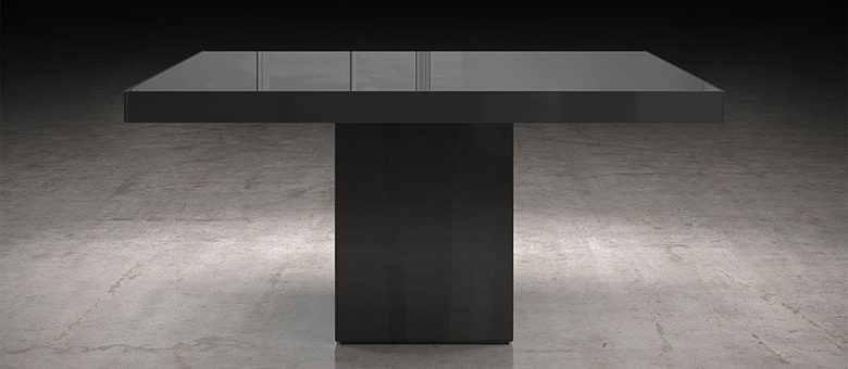 Modloft Modern Furniture, Dining Tables With Regard To Most Recent 87 Inch Dining Tables (View 11 of 20)
