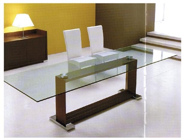 Monaco Dining Tables In Famous Monaco Modern Italian Dining Table (View 7 of 20)
