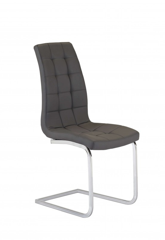 Morale Home Furnishings Within Fashionable Grey Leather Dining Chairs (View 13 of 20)