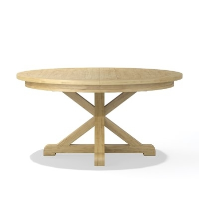"""Morgan Dining Table, Round, 60"""", Oak (View 10 of 20)"""