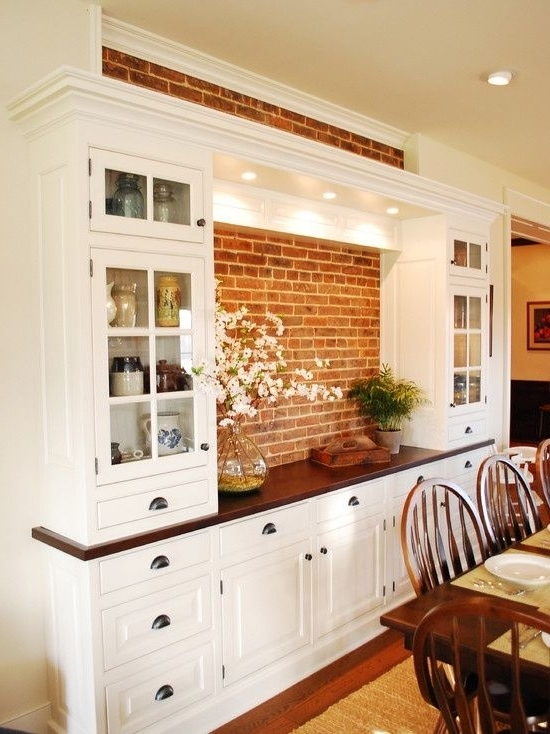 Featured Photo of Dining Room Cabinets