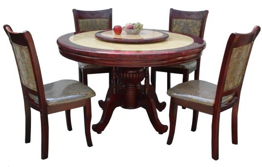 Most Current 6 Seater Round Dining Tables Regarding 6 Seater Round Dining Table – Lorenz Furniture (View 11 of 20)