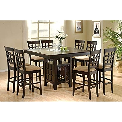 Most Current 8 Dining Tables Pertaining To 8 Seat Dining Table: Amazon (View 14 of 20)