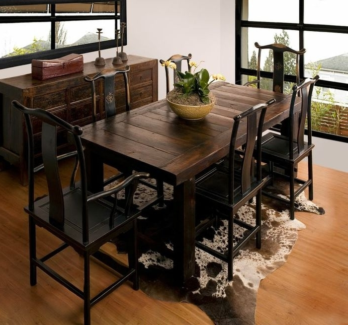 Most Current Asian Dining Tables Intended For  (View 13 of 20)