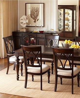 Most Current Bradford Dining Tables Inside Bradford Dining Room Furniture Collection Round With Four Chairs (View 13 of 20)