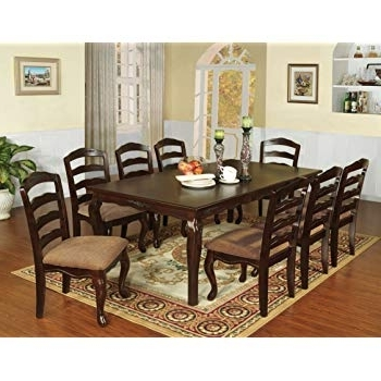 Most Current Caira 9 Piece Extension Dining Sets In Amazon – Furniture Of America Voltaire 9 Piece Formal Dining (View 13 of 20)