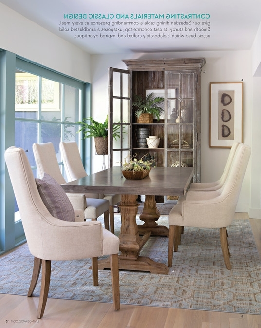 Most Current Chapleau Ii Extension Dining Tables Throughout Living Spaces Dining Table – Loris Decoration (View 16 of 20)