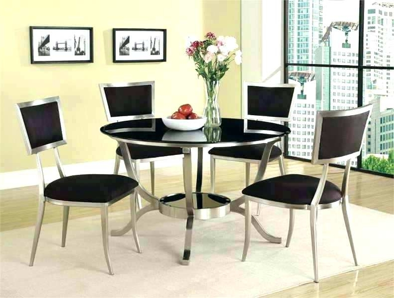Most Current Cheap Contemporary Dining Tables With Dining Table Sets Modern Modern Round Dining Room Sets Round Dining (View 15 of 20)