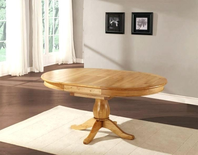 Most Current Circular Oak Dining Tables Inside Oak Circular Dining Table Dining Chair Perfect Circular Oak Dining (View 11 of 20)