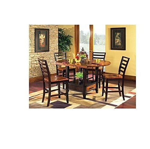 Most Current Combs 5 Piece 48 Inch Extension Dining Sets With Pearson White Chairs Intended For 653 Best Best Dining Room Sets Reviews Images On Pinterest (View 13 of 20)