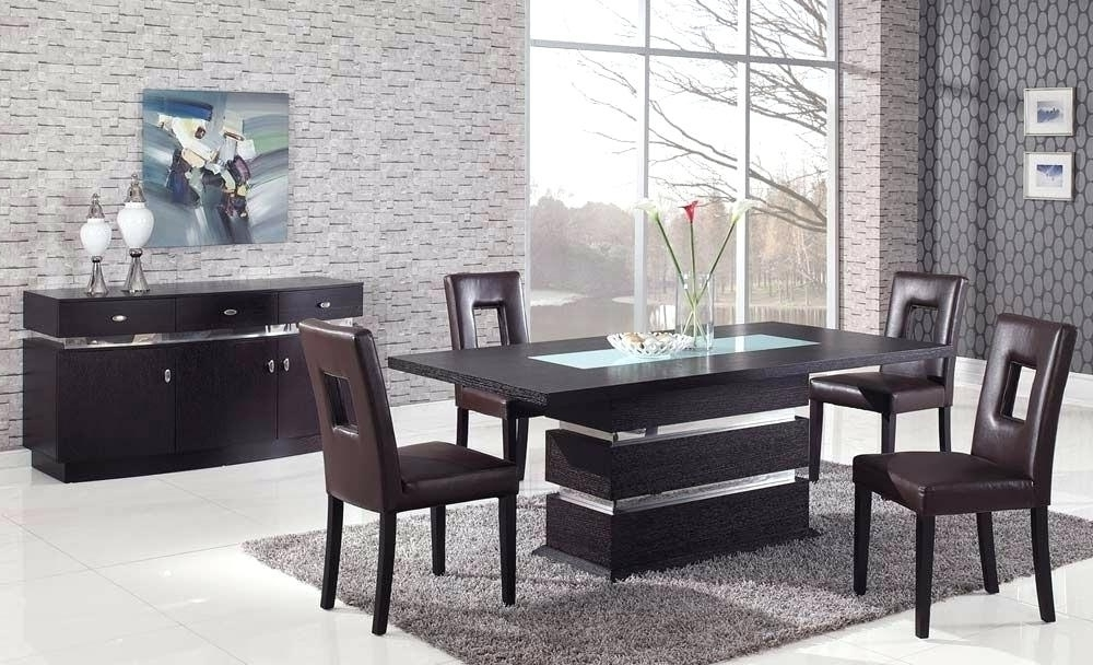 Most Current Contemporary Dining Tables Sets Pertaining To Italian Modern Dining Table High End Tables Elegant Room Sets For (View 11 of 20)