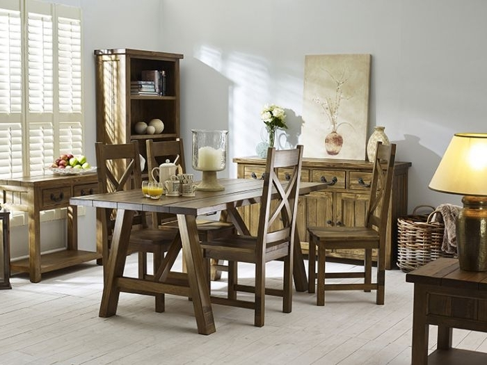 Most Current Cotswold Trestle Dining Table (View 15 of 20)