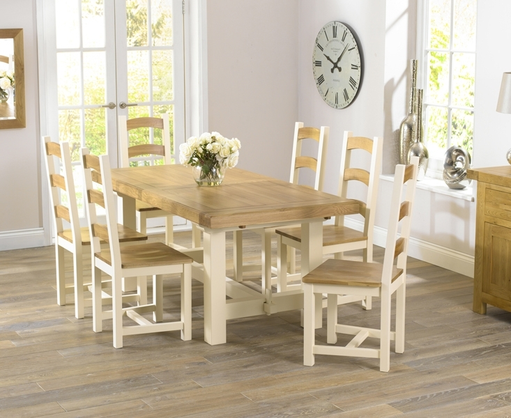 Most Current Cream And Wood Dining Tables Intended For Modern Upholstered Dining Chairs For Sale – Elites Home Decor (View 6 of 20)