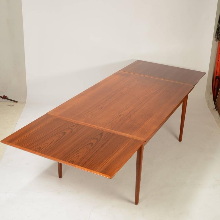 Most Current Danish Dining Tables For Large Danish Modern Teak Dining Tablel&f Mobler For Sale At 1Stdibs (View 11 of 20)