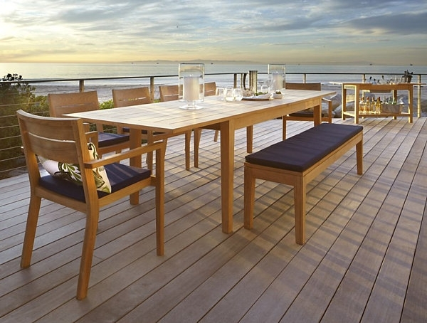 Most Current Dining Room Design: Expandable Outdoor Dining Table, Dining Tables With Regard To Outdoor Extendable Dining Tables (View 15 of 20)
