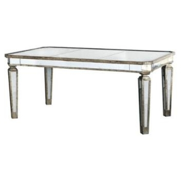 Most Current Dt 1007, China Antique Silver Mirrored Dining Table, Dining Room Regarding Antique Mirror Dining Tables (View 10 of 20)