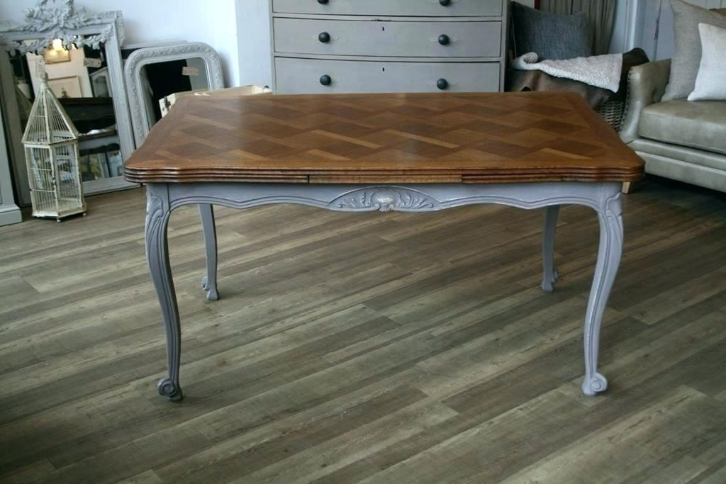 Most Current French Extending Dining Tables Throughout French Extending Dining Table Tables Provincial Three Rare Vintage (View 15 of 20)