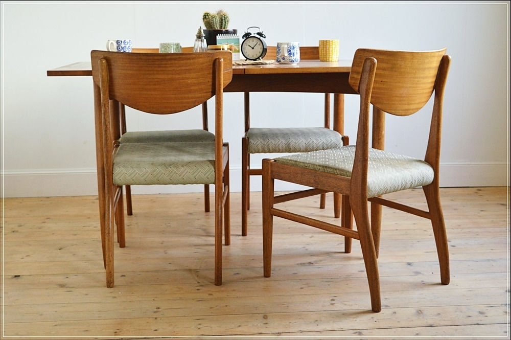 Most Current Glasgow Dining Sets For Vintage Dining Chair Chairs Teak Set Of 4Morris Of Glasgow (View 16 of 20)
