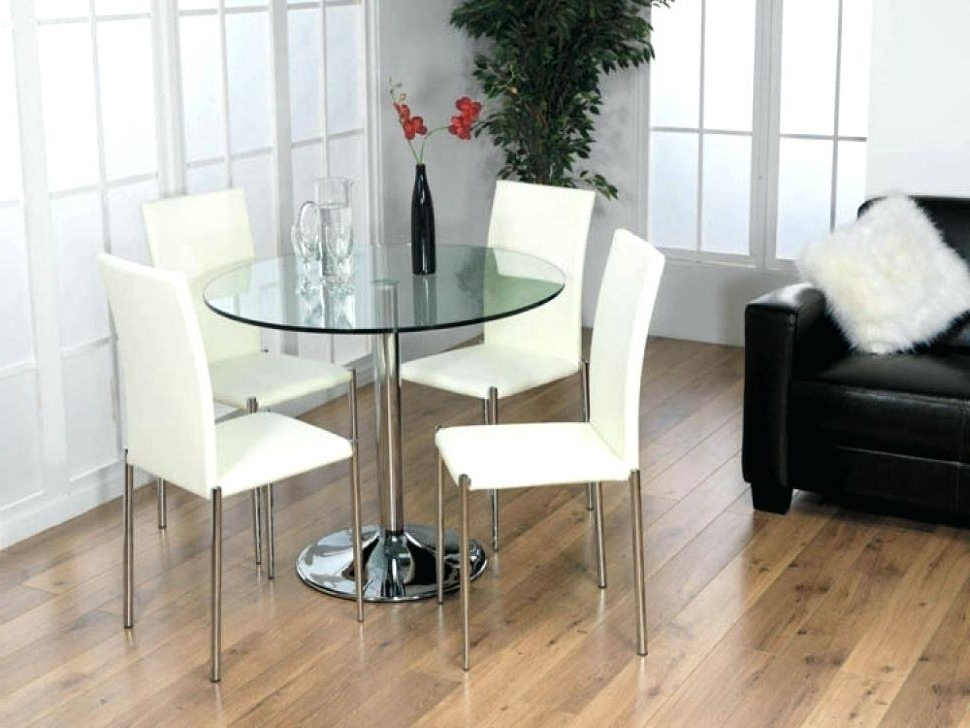 Most Current Glass Dining Table Set For 4 – Zaglebie (View 12 of 20)