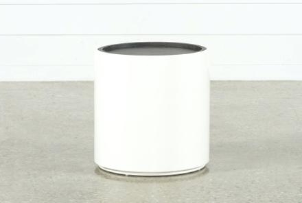 Most Current Grey Round End Table Snack Grey Table Top With White Legs Pertaining To Bale Rustic Grey Dining Tables (View 17 of 20)