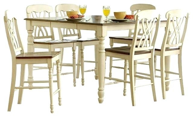 Most Current Hyland Counter Height Dining Room Table – Ocane Pertaining To Hyland 5 Piece Counter Sets With Stools (View 11 of 20)