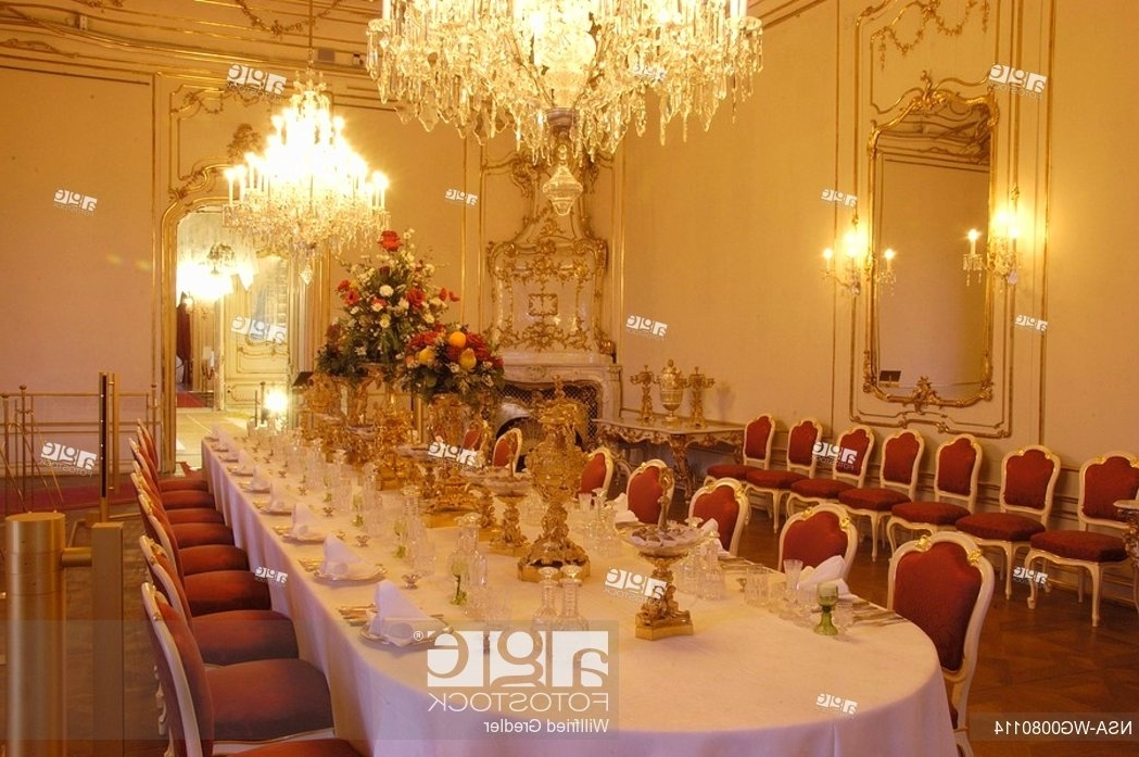 Most Current Imperial Dining Tables With Regard To Dining Table In The Dining Room In The Apartments Of The Imperial (View 19 of 20)