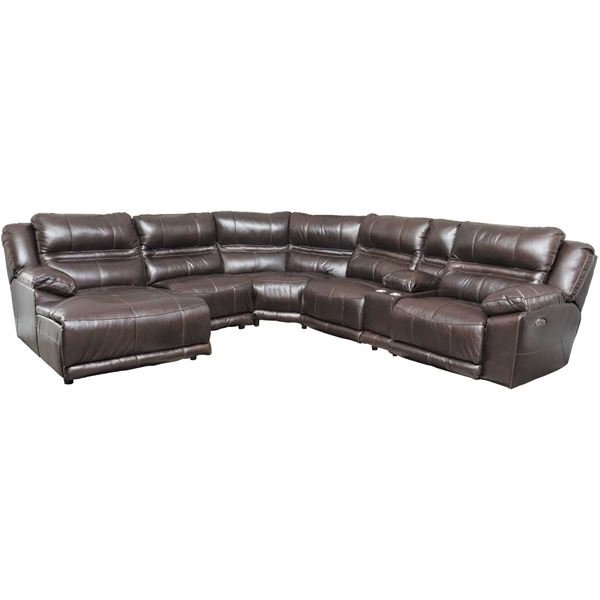 Most Current Jackson 6 Piece Power Reclining Sectionals With  Sleeper For Bergamo 6 Piece Power Reclining Sectional With Adjustable Headrest (View 11 of 15)