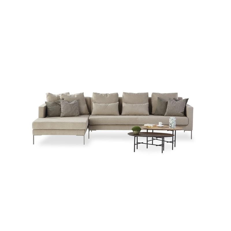 Most Current Josephine 2 Piece Sectionals With Laf Sofa For Orren Ellis Josephine Modular Sectional (View 11 of 15)