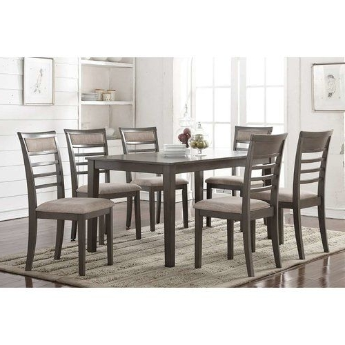 Most Current Lowell Extension Table Regarding Amos 7 Piece Extension Dining Sets (View 14 of 20)