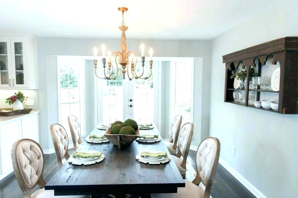 Most Current Magnolia Home Sawbuck Dining Tables Intended For Magnolia Home Farmhouse Dining Table Country Rustic Room With (View 14 of 20)