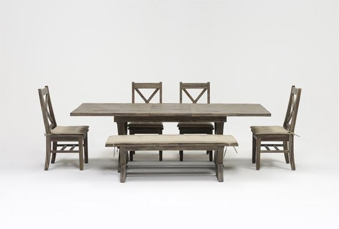 Most Current Mallard 7 Piece Extension Dining Sets Throughout Mallard 6 Piece Extension Dining Set (View 10 of 20)