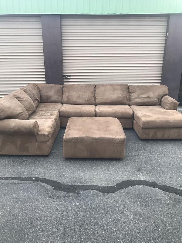 Most Current Norfolk Chocolate 3 Piece Sectionals With Raf Chaise Regarding Sectional – Local Delivery Available For Sale In Virginia Beach, Va (View 6 of 15)