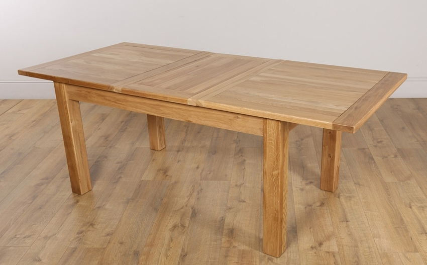 Most Current Oak Extending Dining Sets With Oak Dining Table: Get The Best One Today – Darbylanefurniture (View 8 of 20)