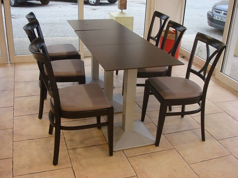 Most Current Palazzo 6 Piece Rectangle Dining Sets With Joss Side Chairs Within La Banette A Valence (Drome) (View 6 of 20)