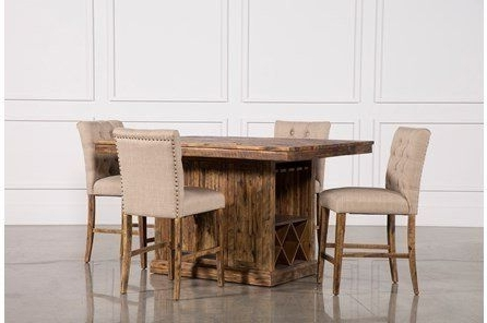 Most Current Partridge 5 Piece Extension Counter Set (View 10 of 20)