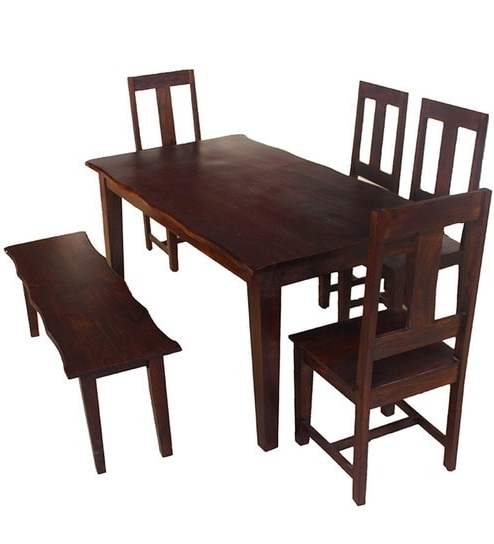 Most Current Vienna Dining Tables For Buy Hometown Vienna Solidwood Six Seater Dining Set Online – Six (View 11 of 20)