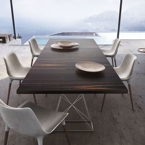 Most Popular 87 Inch Dining Tables In Modloft Curzon 87 Inch Dining Table (View 13 of 20)