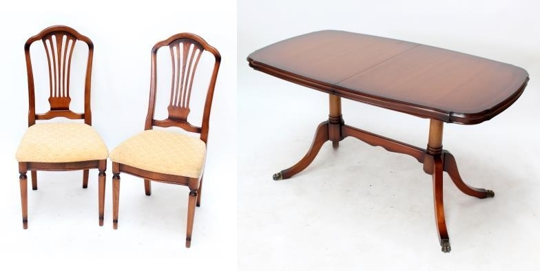 Most Popular Adam Partridge Auctioneers & Valuers : A Reproduction Extending In Partridge Dining Tables (View 7 of 20)