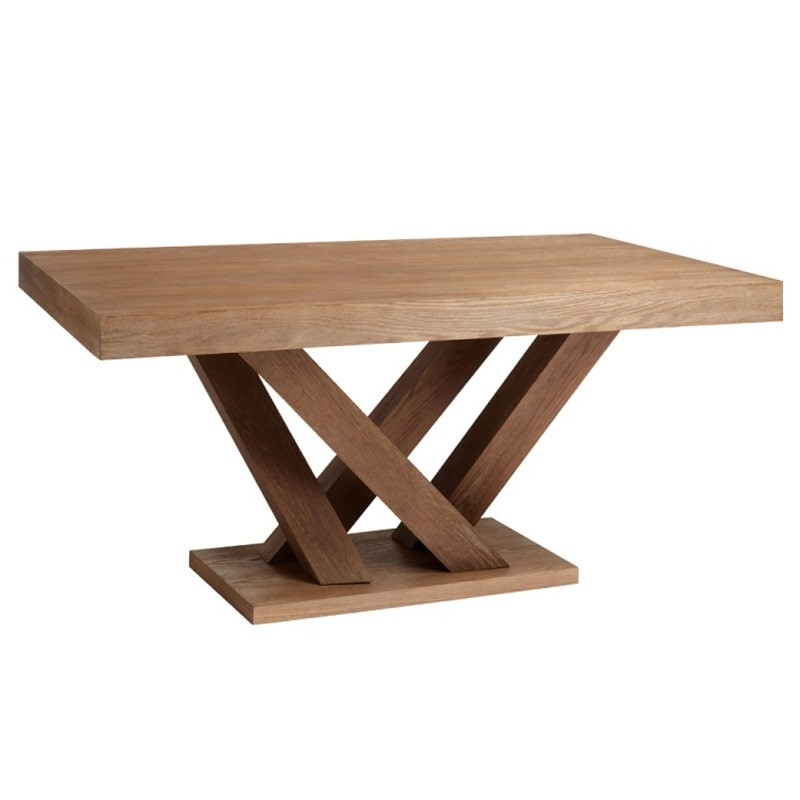 Most Popular Amazing Dining Table Rectangular Pedestal Table Rectangular Dining Pertaining To Laurent Rectangle Dining Tables (View 16 of 20)