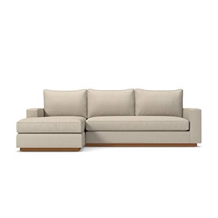 Most Popular Amazon: Apt2b Harper 2 Piece Sectional, Beige, Raf – Chaise On Intended For Harper Foam 3 Piece Sectionals With Raf Chaise (View 7 of 15)
