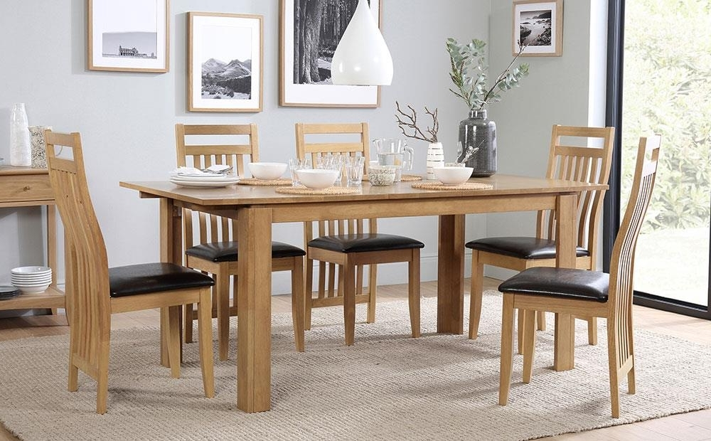 Most Popular Bali Extending Dining Table And 6 Chairs Set Only £ (View 11 of 20)