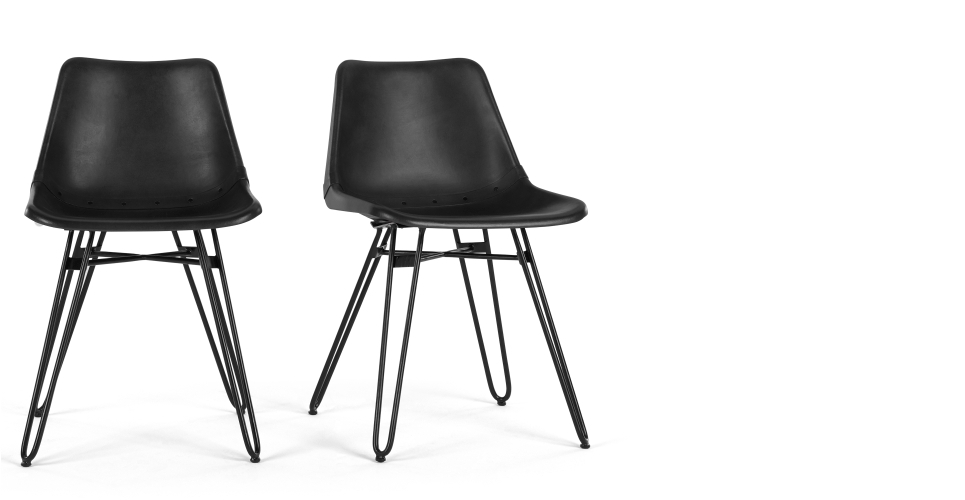 Most Popular Black Dining Chairs For Comfortable Eating – Darbylanefurniture In Black Dining Chairs (View 15 of 20)