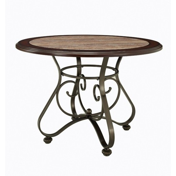 Most Popular Bradford Dining Tables With Regard To Shop Powell Bradford Dining Table – Bronze – On Sale – Free Shipping (View 14 of 20)