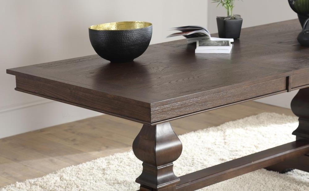 Most Popular Cavendish Dark Wood Extending Dining Table 160 – 200Cm Only £ (View 14 of 20)
