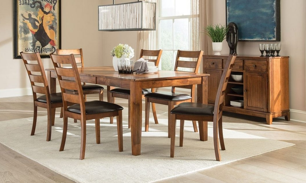 Most Popular Cora 7 Piece Dining Sets With Regard To Image 11203 From Post: Casual Dining Room Furniture – With 7 Piece (View 13 of 20)